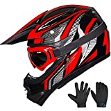 ILM Youth Kids ATV Motocross Dirt Bike Motorcycle Helmet
