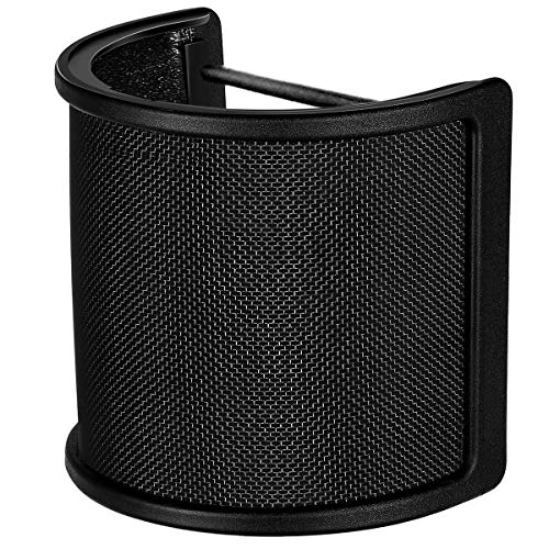 Microfoon Mic popfilter met schuimlaag voorruit voorruit voorruit voorruit voor studio