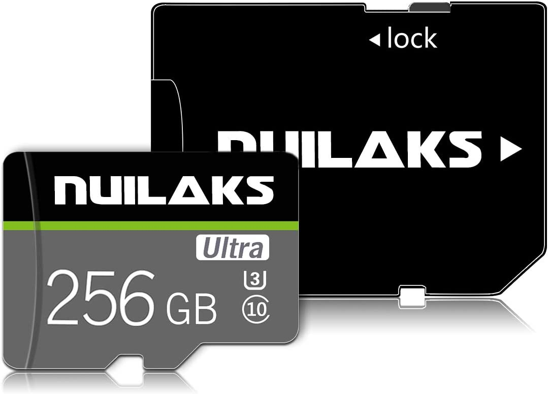 256GB Memory Card Class 10 Card Micro SD Card Compatible Computer Camera and Smartphone,TF Memory Card with a SD Card Adapter(256GB)