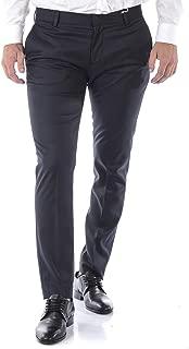 Daniele Alessandrini - Men'S Pants P3498N7443705 Blue Logo SLIMATO Pants