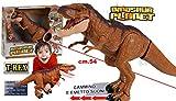StrMy T-Rex Dinosauro Jurassic Grande con Azione luci e Suoni -Nuovo-Italia