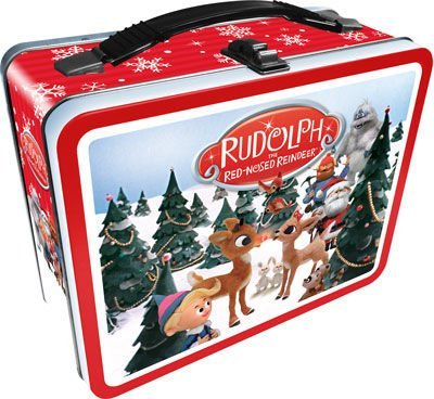 Aquarius Rudolph The Red Nosed Reindeer Gen 2 Tin Fun Box Novelty by Aquarius