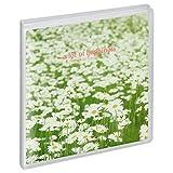 HAKUBA アルバム PポケットアルバムNP ましかく(89mm)サイズ 20枚収納 白い花畑 APNP-89-SHB