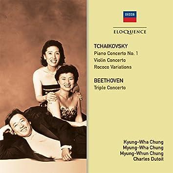 Tchaikovsky: Concertos / Beethoven: Triple Concerto