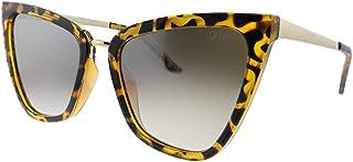 نظارة شمس من Quay Australia بلون بني السلحفاة.