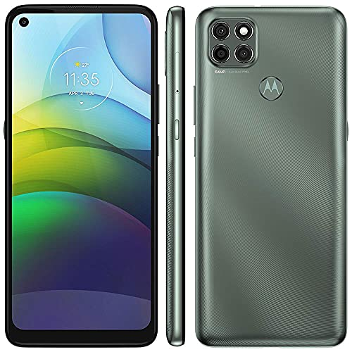 "Celular Motorola Moto G9 Power Verde Pacífico 128gb Tela 6.8"" 4gb Ram Câmera Tripla 64mp + 2mp + 2mp"