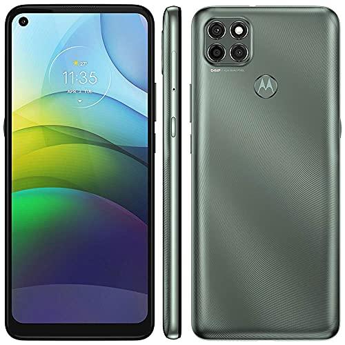 Celular Motorola Moto G9 Power Verde Pacífico 128gb Tela 6.8' 4gb Ram Câmera Tripla 64mp + 2mp + 2mp
