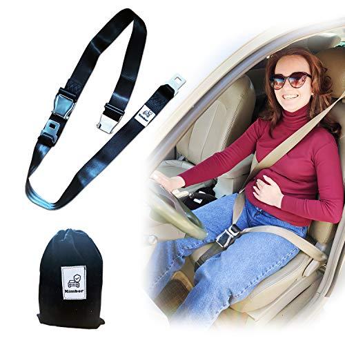 KIMBOR Pregnancy Bump Belt Maternity Car Belt Adjuster for Pregnant Moms, Comfort and Safety for...