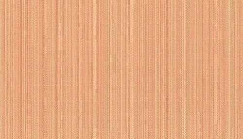 Raumausstatter.de Zena 1601 - Tela para Muebles, diseño de Rayas, Color Naranja