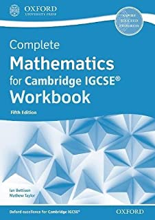 Complete Mathematics for Cambridge IGCSE® Workbook (Core & Extended)