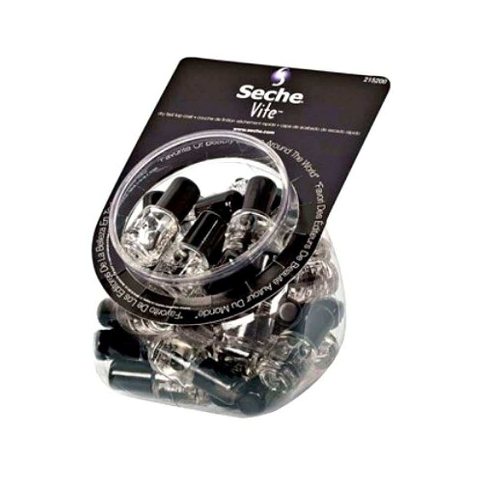 同級生億反映するSECHE VITE Dry Fast Top Coat MINI Display Bucket Set 36 Pieces (並行輸入品)