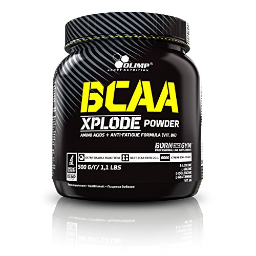 Olimp BCAA Xplode Powder Supplement, 500 g, Ice Tea Peach