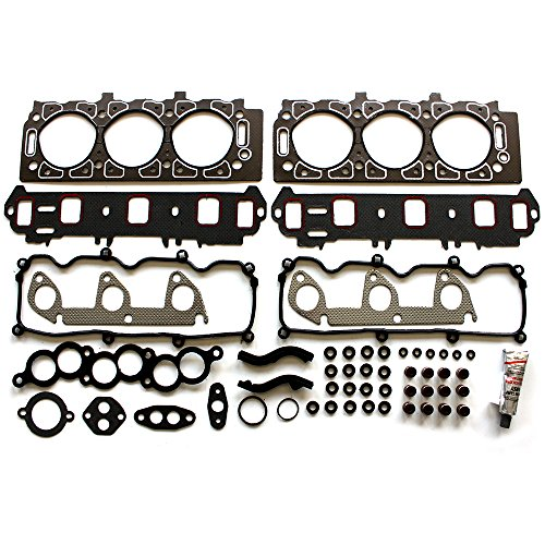 ECCPP Head Gasket Set fit 1991-2001 for Ford Ranger Aerostar for Mazda 3.0L VIN U V Automotive Replacement Engine Head Gaskets Kit
