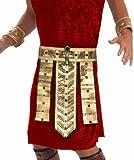 Forum Novelties Men's Deluxe Egyptian Belt, Gold, One Size