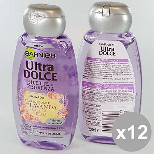 Set 12 ULTRA DOLCE Shampoo 250 Provenza Lavanda Prodotti per capelli