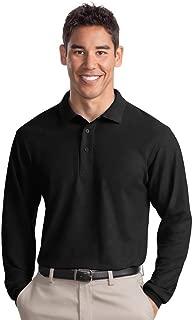 Port Authority Men's Tall Silk Touch Long Sleeve Polo