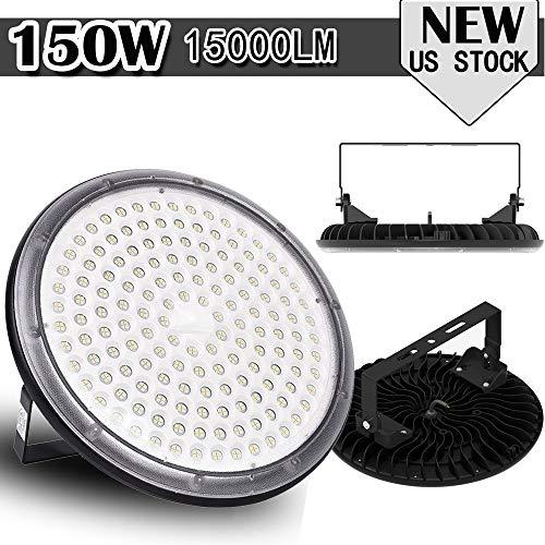 3X 150W UFO LED Hallenleuchte Industrielampe Hallenstrahler Fluter Lembrd IP65