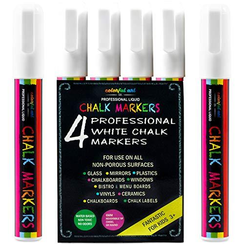 8 Chalk Markers by Fantastic ChalkTastic Best for Kids Art Chalkboard Labels
