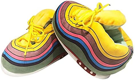 KoziKickz Sneaker Slippers Plush Comfy Sole Cheap Milwaukee Mall mail order sales Ultra Non-Slip