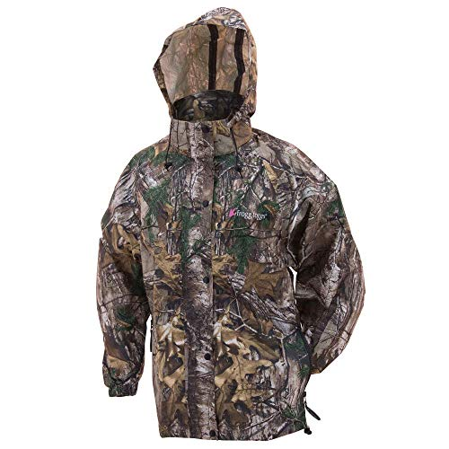Frogg Toggs Pro Action Rain Jacket, Women's, Realtree Xtra, Size Medium