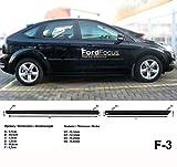 Spangenberg 370000308 - Parafanghi laterali per Ford Focus II berlina e station wagon anno di costruzione 11.2004-2010 F3 (370000308)