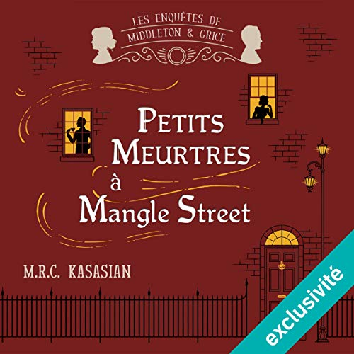 Petits meurtres à Mangle Street audiobook cover art