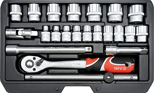 "40 Pièces BlueSpot Outils 1//4/"" /& 3//8/"" Socket Set Metric 4-13 mm Imperial 5//32/""-3//8/"""