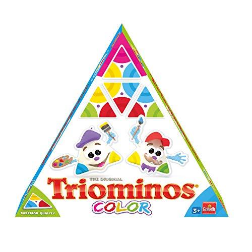 Goliath - Triominos Color - das spannende Anlegespiel für die Kleinsten - ab 3 Jahren