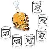 BWM Vaso de Cerveza de Vidrio de Whisky de Vodka de Vidrio de Cristal Transparente, Set