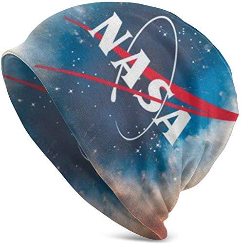 Unisex Beanie Caps Galaxy NASA Nebel Weltraum Abenteuer Strickmütze Skull Cap Winter Sommer Warm Damen Herren Mütze Schwarz