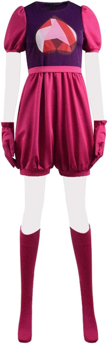Genuine Fans-us WomensGirls latest Steven Garnet Costume Cosplay Romper Gloves