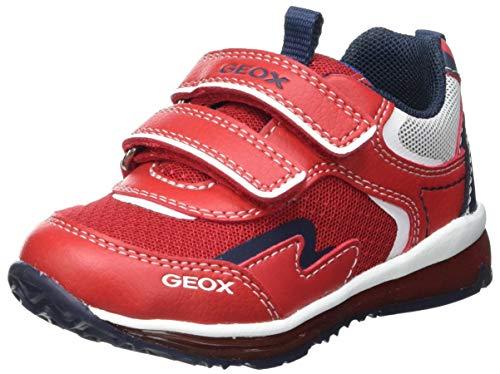 Geox B Todo Boy A, Zapatillas Niños, Red/Navy, 24 EU
