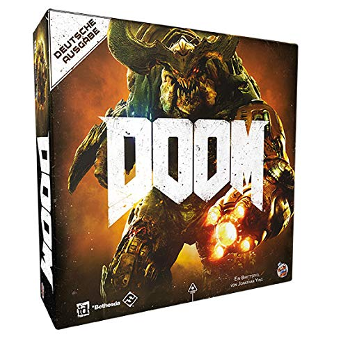 Fantasy Flight Games FFGD0107 Doom - Brettspiel Neuauflage