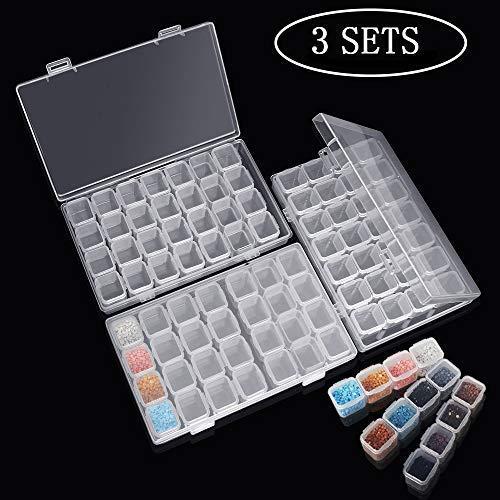 Caja Accesorios Diamond 3 Pack Cada con 28 Compartimentos