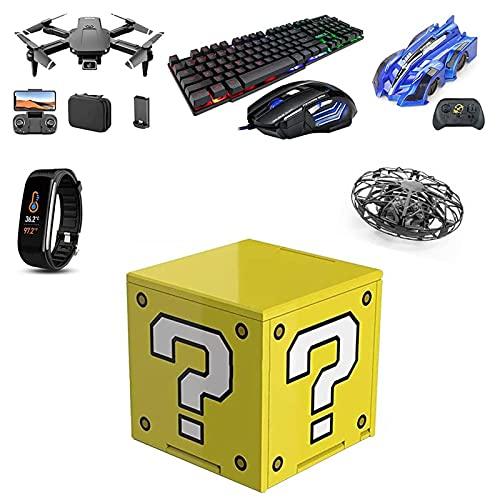 Lvminhm Caja Misteriosa: Todo Tipo De Obsequios Misteriosos, Drones, Coches De Control Remoto, Pulseras Inteligentes, Juegos De Ratón Y Teclado, Todo Es Posible (Aleatorio)