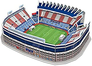ATLETICO DE MADRID- Nanostad, Puzzle 3D Estadio Vicente Cald