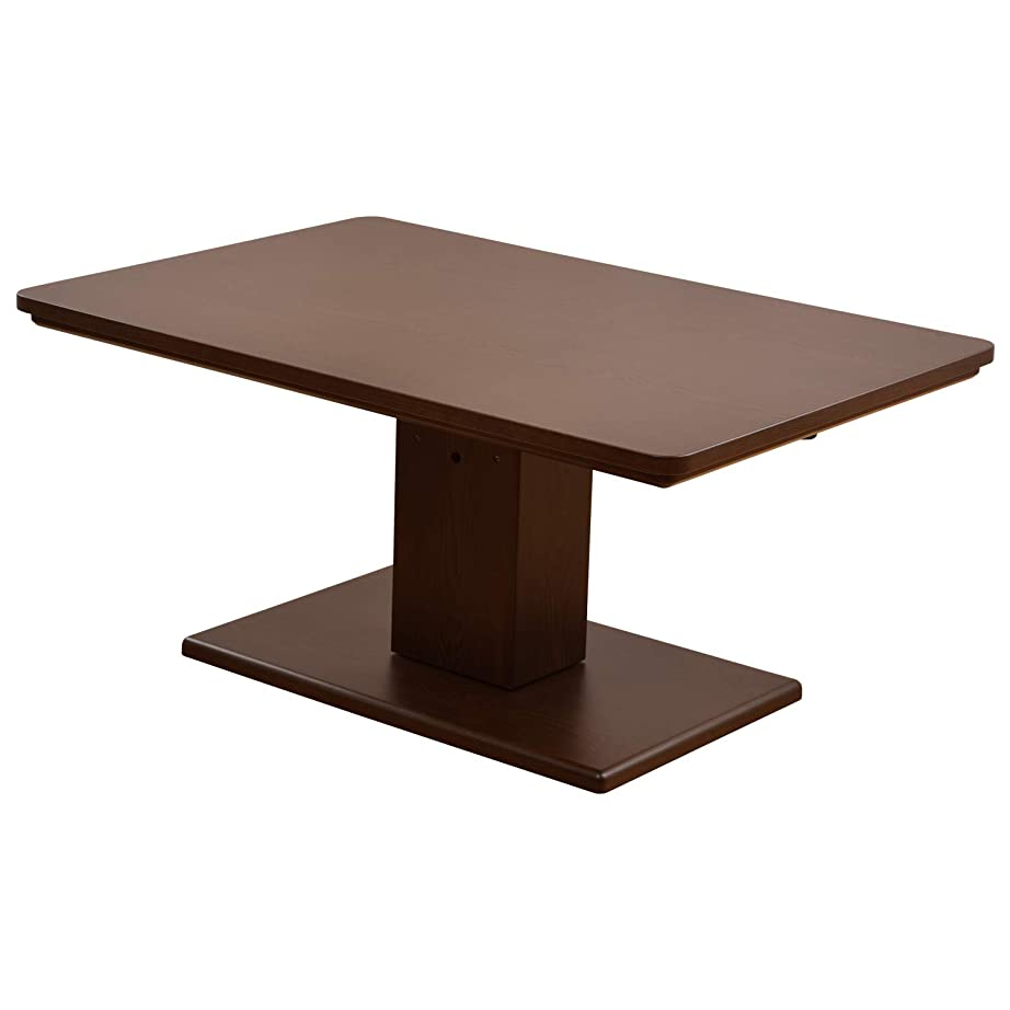 かろうじて発生器バンク山善(YAMAZEN) 昇降式こたつテーブル (120×80cm 長方形) こたつ ダイニングこたつ JLTK-HD1280