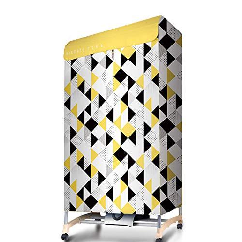 Secadora de Ropa, 1000W Hack de secador portátil Mini lavandería eléctrica Estante de Secado, Distrito de la casa Silencioso Silencioso Ahorro de energía Secado Máquina de Estante Grande Capacidad