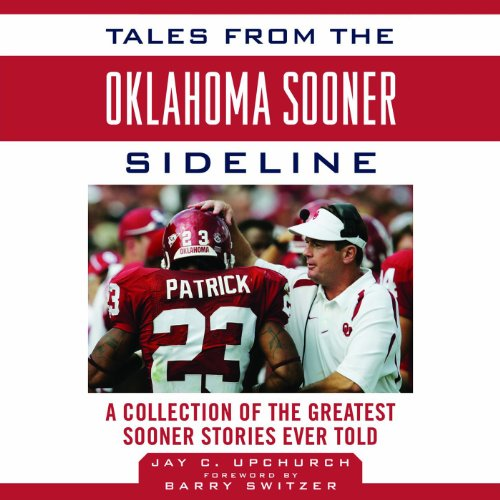 Tales from the Oklahoma Sooner Sideline audiobook cover art