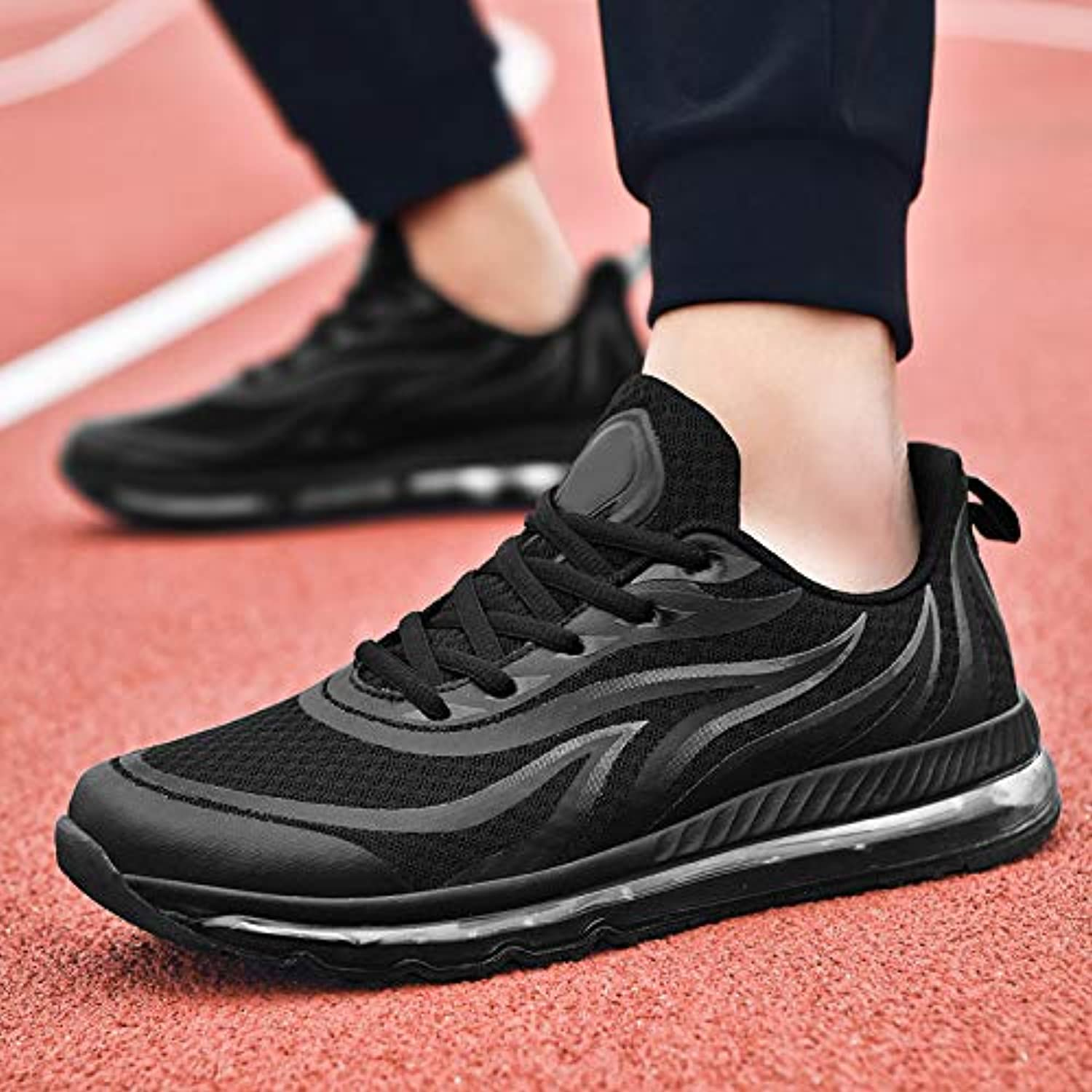 LOVDRAM Men's shoes Men'S shoes Full Palm Cushion shoes Spring New Sports shoes Student Running shoes Autumn Casual shoes