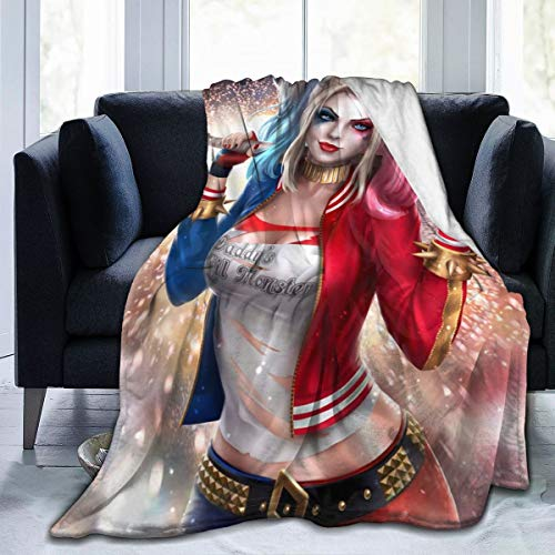 51Dw4RkGLEL Harley Quinn Blankets