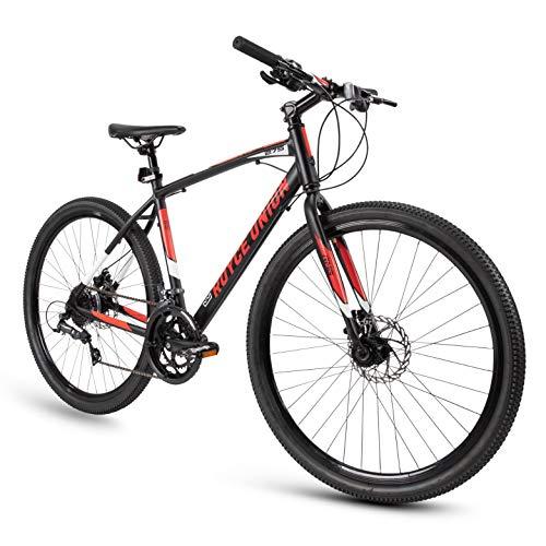 "Royce Union Gravel Bike RMG 27.5"" Wheels and 19"" Frame, Lightweight Aluminum w/ Shimano, 16 Speed"