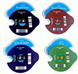 4 REUSEABLE ICE T-Discs for TASSIMO. for CAPPUCCINOS, Coffee, Tea and Chocolate