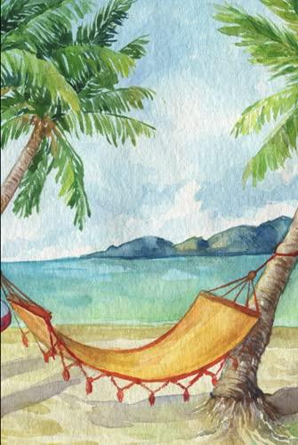 Notebook: watercolour hammock