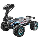 Myste Coche teledirigido 4WD RC 1:10, 80 km/h, 2,4 G, coche de carreras sin escobillas, de alta velocidad, todoterreno, eléctrico, juguete creativo para adultos y niños