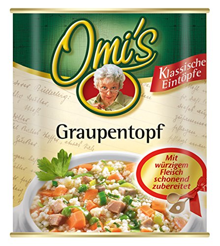Omi's Graupentopf mit Rindfleisch, 6er Pack (6 x 800 g)