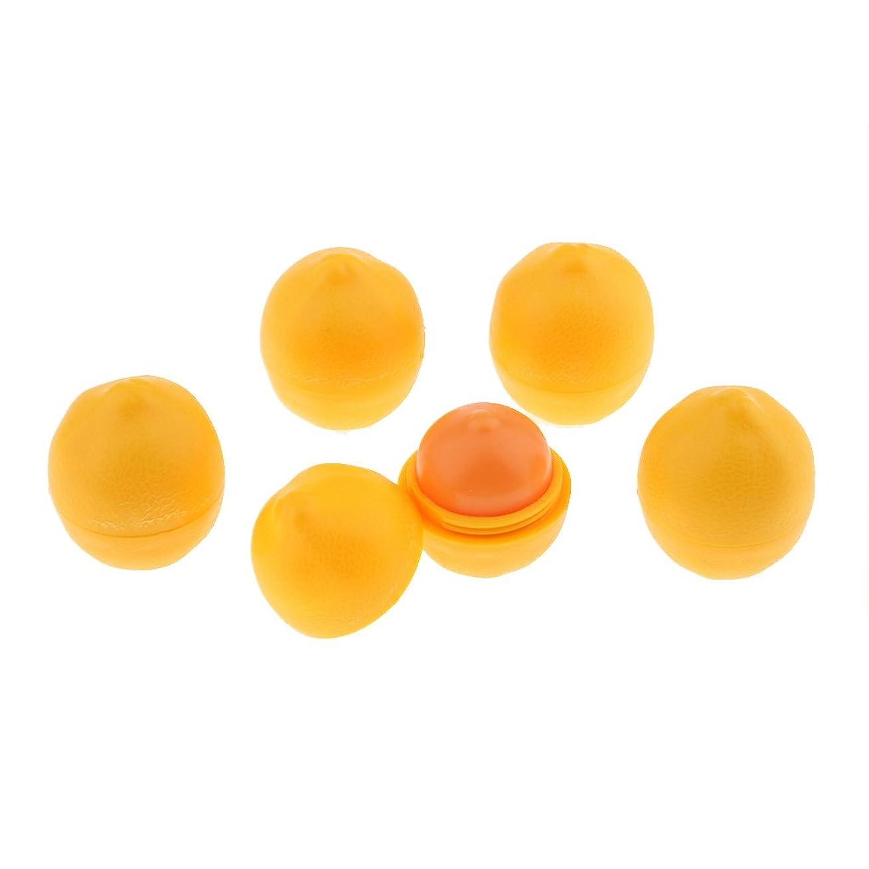 賢い征服協定新しいレモンフルーツの風味を付けられたリップ?クリームの長い水和のリップ?クリームの口紅5個/キット