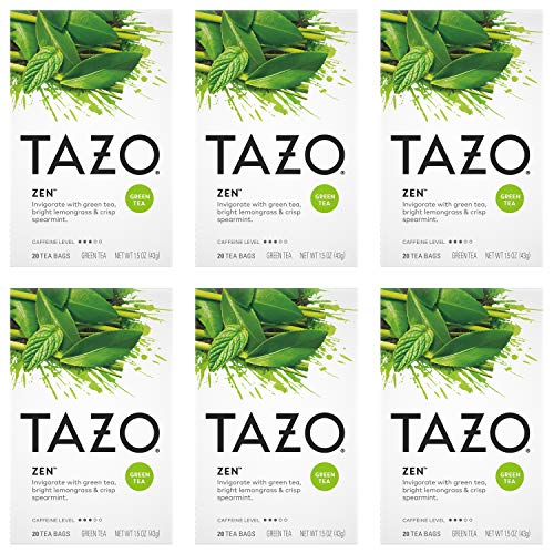 4. Tazo – Zen Green Tea