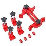 KKmoon 9pcs Kit di Distribuzione Albero a Camme Principale Dispositivo di Bloccaggio Smontaggio Cinghia Dentata Motore per Auto Prevenire Danni al Motore