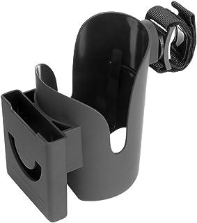 CLISPEED 2-in-1 Cup Holder Mobile Phone Brasket Clip On Drink Bottle Holder for Baby Cart Wheelchair Bike Stroller Motorcy...